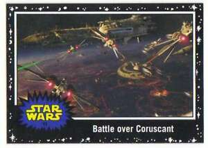 2015-Star-Wars-Journey-To-The-Force-Awakens-Black-10-The-Clone-Wars-begin-Topps