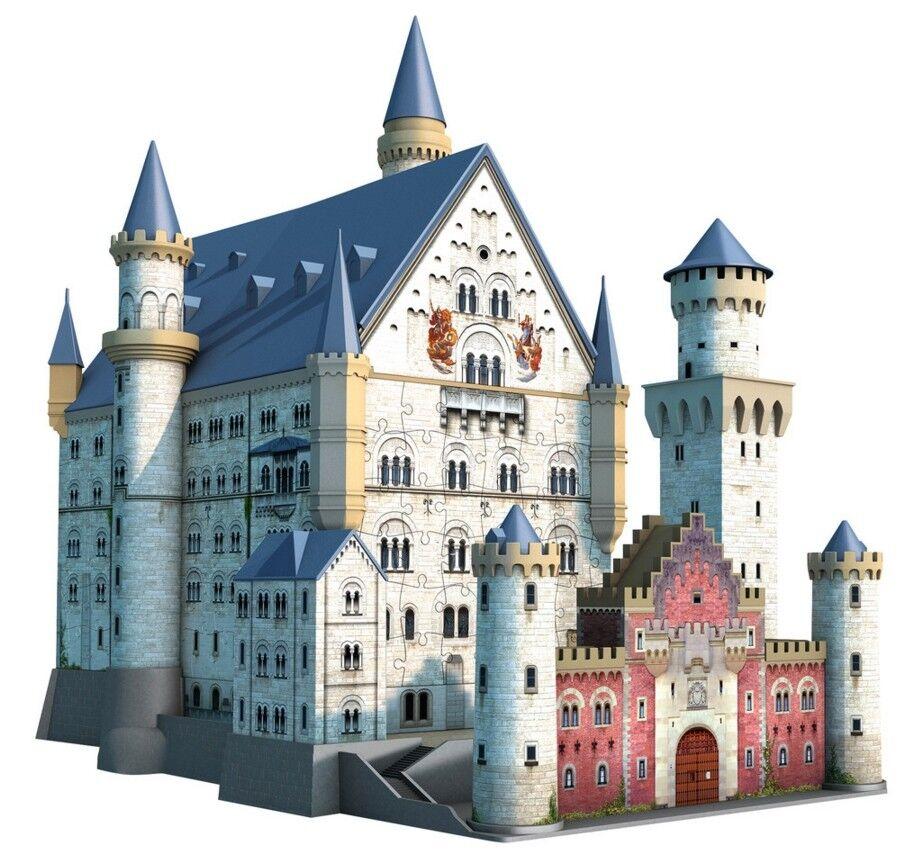 Jigsaw Puzzle 3d Ravensburger 12573 Castle Neuschwanstein Neuschwanstein 3d