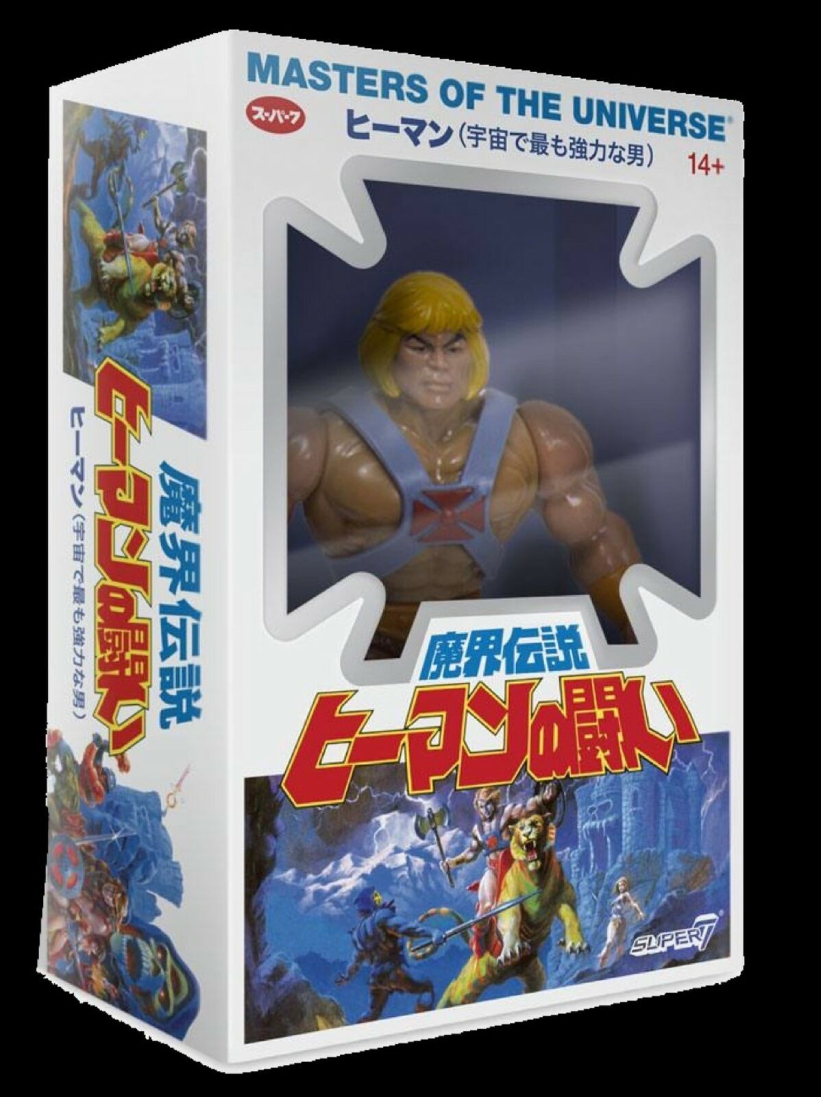 Masters of the Universe Jahr Sammlung Wirkung Figure Wave 4 He-Man Japanese