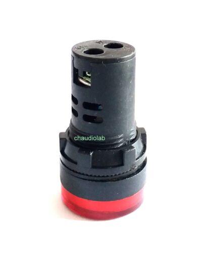 1x New HQ Pilot//Indicator Light 30mm RED LED 12V AC-DC #APT-C