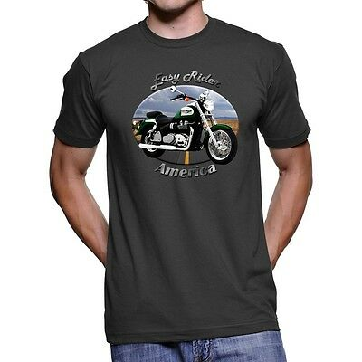 Triumph America Easy Rider Men`s Dark T-Shirt