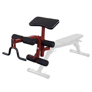 Best Fitness Folding Bench Leg Preacher Attachment Bfpl10 Ebay