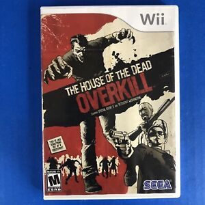 House of the Dead Overkill (Nintendo Wii Game, 2009)TESTED AND WORKS , NO MANUAL