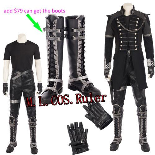 Latest FINAL FANTASY XV Cosplay Kingsglaive Nyx Ulric uniform Costume Customized