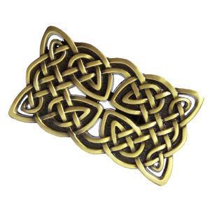 d9ad3ab73475 Croix celtique irlandaise Hommes Boucle de ceinture en cuir Boucle ...
