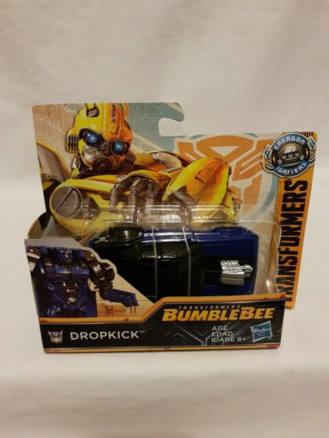 Transformers Bumblebee Movie Dropkick Figure Power Series Hasbro 2018 Aus Seller