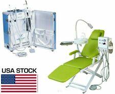 Greeloy Portable Dental Unit Mobile Treatment System 206 Dental Chair 4 Hole