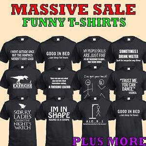 T-Shirt-Divertenti-Uomo-Donna-Regalo-Natale-Abbigliamento-Novita