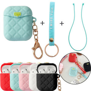 Case-with-Finger-Ring-Strap-Earphone-Cover-Silicone-For-Apple-AirPods-1-2