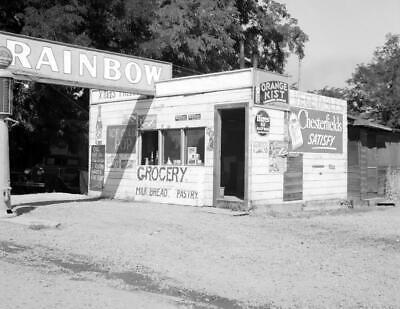 "1939 Tractor Store TX Vintage Photograph 8.5/"" x 11/"" Reprint Harlingen"