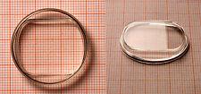 Form-Glas für AU: Kunststoff - mit erhabenem Ablese-Element AUSWAHL Uhrengläser