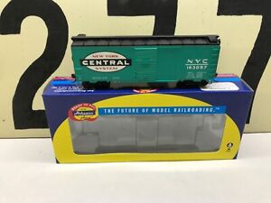 Athearn-Ho-Scale-NYC-New-York-Central-40-Boxcar-Youngstown-Door-RD-163057-RTR