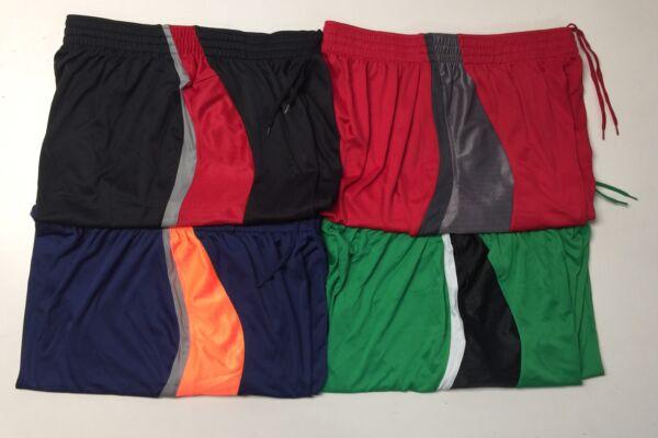 df7da6826 BCG Men s Athletic Basketball Shorts with Adjustable Elastic Waistband S-XL  NWT