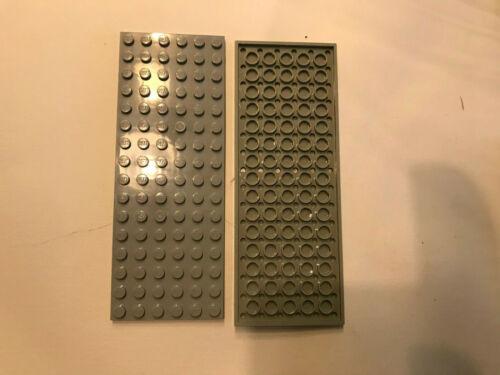 Lego 2 Platten 6 x 16 althellgrau