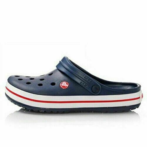 Unisex Herren Badeschuhe Croc Clogs Crocband Loch Hausschuhe Sandale Schuhe  DE