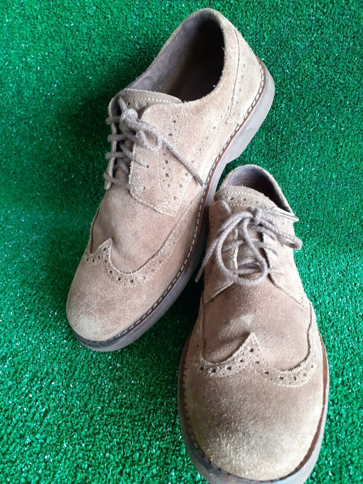 Mens Timberland 5830R Earthkeepers Brogues Suede Leather Size UK 7 REF #160
