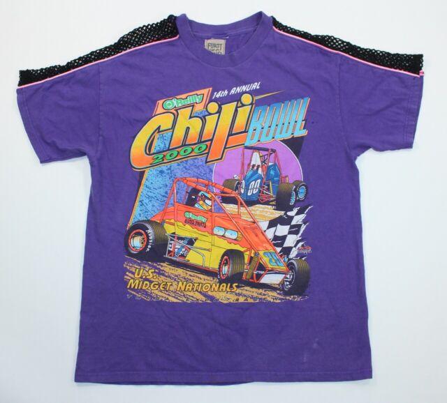 US Midget Car Auto Racing Nationals 2000 Chili Bowl T Shirt