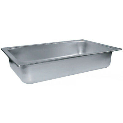 Winco C-WPF6 6-Inch Deep Spillage Pan Full Size