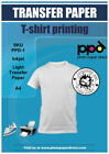 PPD PPD-1-40 A4 Light Inkjet T-Shirt Transfer Paper
