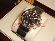 Ulysse Nardin Maxi Marine Diver Chronograph Rose Gold 42.7mm 8006-102-3c/926