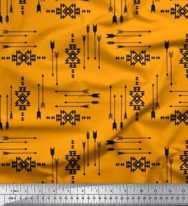 Stripe Print Indian Cotton Fabric 42 Inches Wide Crafting Sewing Supply By mtr