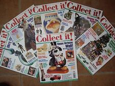 SIX GREAT COLLECT IT MAGAZINES YEAR 2000