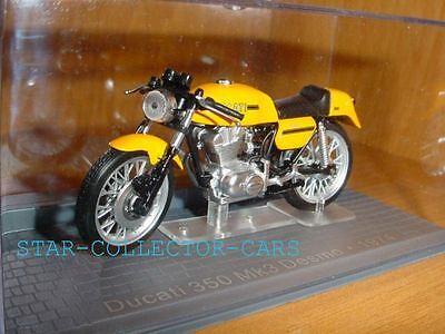 DUCATI 350 MK3 DESMO 1974 YELLOW 1//24 RARE/&MINT!!!
