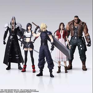 Final Fantasy 7 VII FF7 Remake Figure 5 Complete Set Trading Arts SQUARE ENIX