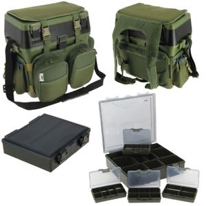 NGT Angel Rucksack Sitzbox Tasche Seat Box Tragehilfe Tackle Bag Sitzkiepe