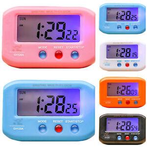 Portable-Small-Portable-LCD-Display-Digital-Travel-Alarm-Clock-Automotive-Snooze
