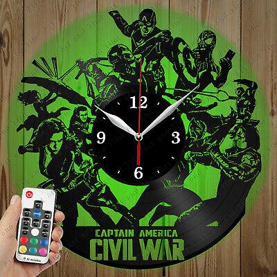 Details about  /LED Vinyl Clock Al Pacino LED Wall Art Decor Clock Original Gift 4200