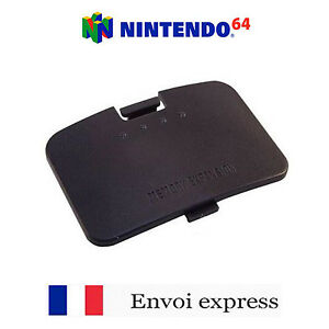 Cache-Expension-Pack-noir-Nintendo-64-NEUF-Cover-Capot-Jumper-Pak-N64-FRANCE