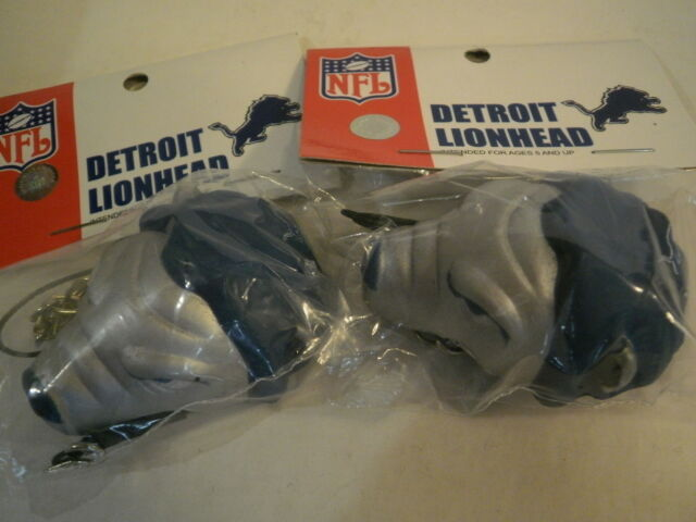 a70a49d4 2 Detroit Lions Antenna Toppers Keychains Hang It Anywhere Foam Lion Head