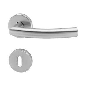 Tuergriff-Tuerbeschlag-Drueckergarnitur-Tuerklinke-Edelstahl-matt-BB-Tuer-L-Form