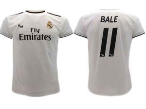 La imagen se está cargando Camiseta-Bale-Real-Madrid -Oficial-2018-2019-Gareth- f95e1fabced20