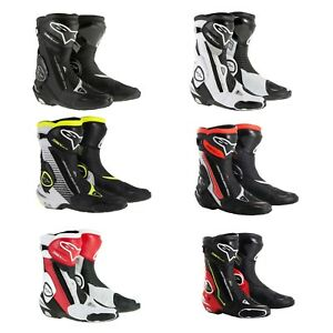 Details about 2019 Alpinestars Racing SMX Plus Vented Sport Bike Motorcycle Street Track Boots