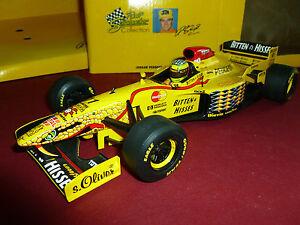 JORDAN-PEUGEOT-11-SCHUMACHER-1997-F1-PAUL-039-S-MODEL-ART-1-18-DIE-CAST-OPEN-BOX-97