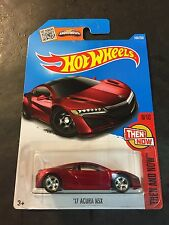 Hot Wheels CUSTOM Super '17 Acura NSX with Real Riders