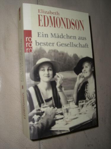 1 von 1 - Elizabeth Edmondson: Ein Mädchen aus bester Gesellschaft