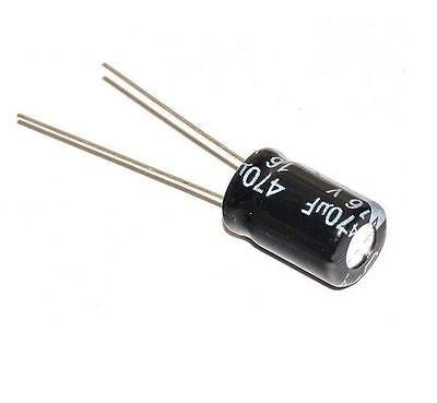 12PCS 16V 470uF 105C 8mm*12mm Radial Electrolytic Capacitors L8