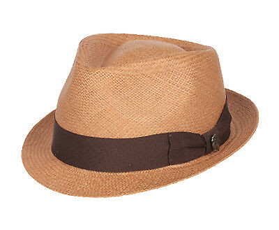 Bigalli Boston Natural Panama Grade 3 Trilby
