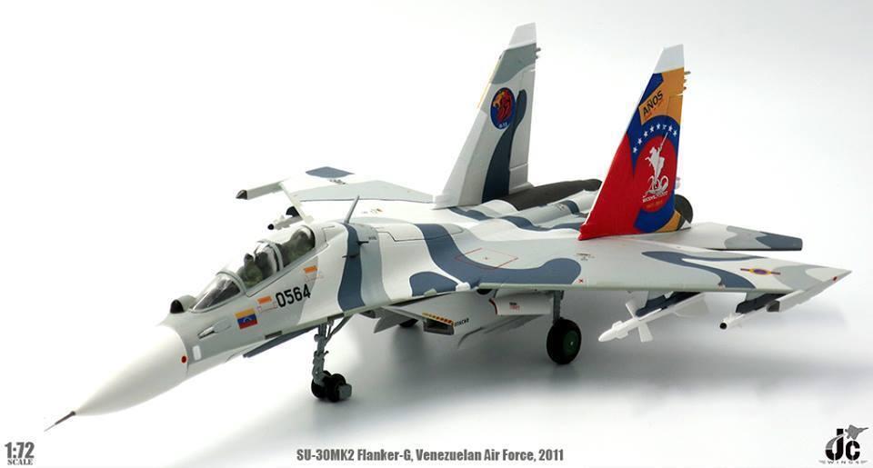JC Wings JCW-72-SU30-004, Sukhoi Su30 Flanker-G Venezuelan Air Force 200 Years