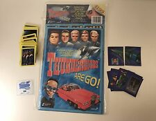THUNDERBIRDS ARE GO! Collector Stickers Complete Set (132) w/ ALBUM by CARDS INC