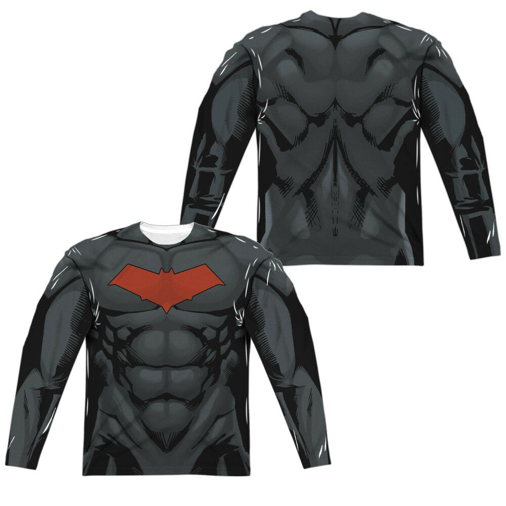 Batman RED HOOD STYLE 2 2-Sided All Over Print Long Sleeve Poly T-Shirt