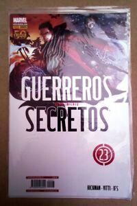 comic guerreros secretos 23