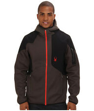 NEW MEN'S SPYDER STATED SOFTSHELL HYBRID LIGHT WEIGHT CORE SWEATER, Size M