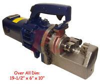 Portable 1 25mm 8 Rebar Cutting Cutter Hydraulic Metal Rod Electric 110v 1440w