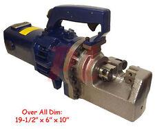 """Portable 1"""" 25MM #8 REBAR CUTTING CUTTER Hydraulic Metal Rod Electric 110V 1440W"""