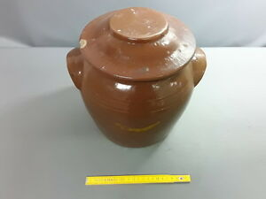 Antique Vase Terracotta unglazed Tub salting mountain cheese
