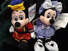 Disney Store & Parks Exclusive Christmas Nutcracker Mini Bean Bag Sealed Mickey